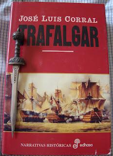Portada del libro Trafalgar, de José Luis Corral