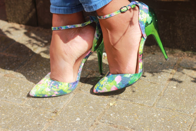 Asos Floral Heels