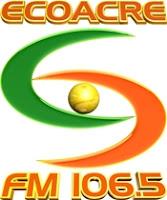 Rádio EcoAcre FM 106,5 de Rio Branco AC ao vivo