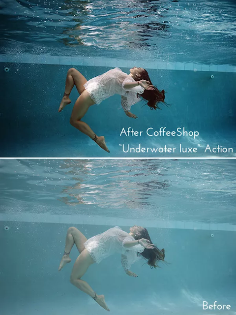 download action photoshop Underwater Luxe