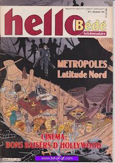 Hello-Bédé, numéro 5, 1991, Métropoles: latitude nord
