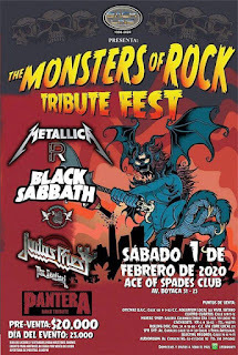 THE MONSTER OF ROCK Tribute Fest 2020