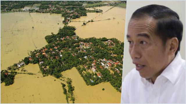 Jokowi Ditantang ke Kalsel Lihat Banjir Akibat Investasi Serampangan