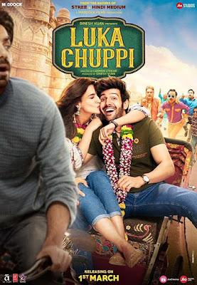 Poster Luka Chuppi 2019 Hindi HD 1080p