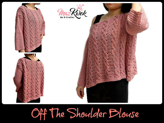 crochet blouse free pattern