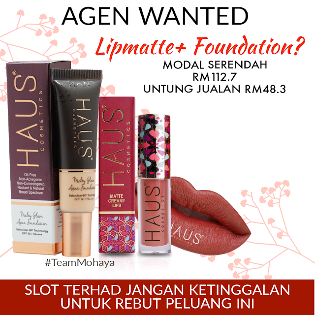 HAUS COSMETICS AGEN WANTED