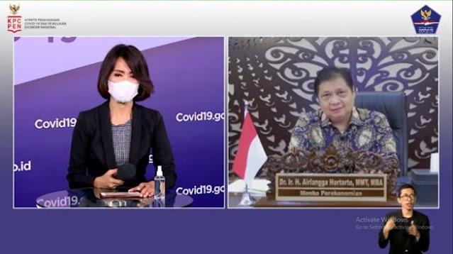 Beda Jauh Sikap Pembantu Jokowi Positif COVID-19 antara Doni dan Airlangga