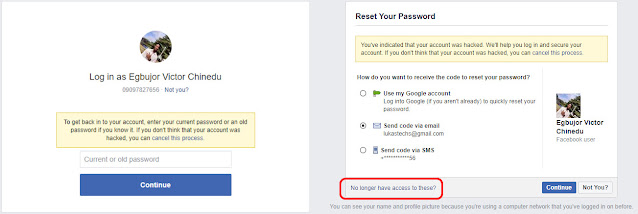 recover a hacked facebook account 2020