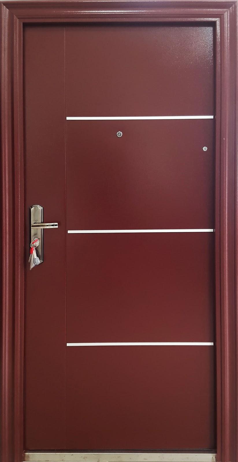 Puertas de seguridad estilo europeo ventanas de aluminio - Puertas blindadas a medida ...