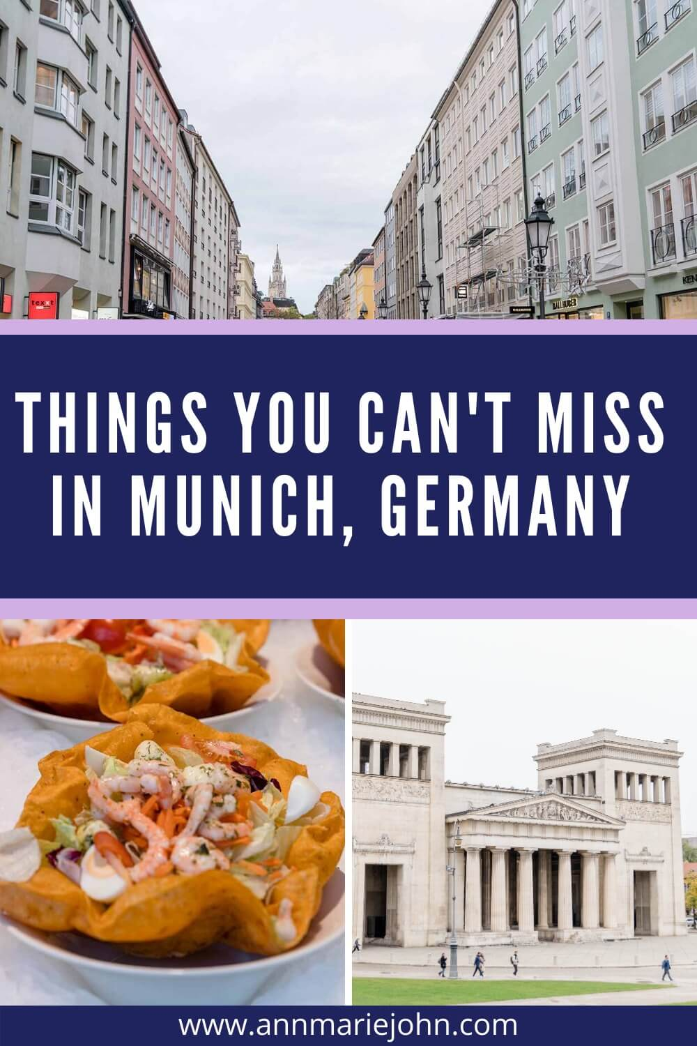 Things You Can't Miss in Munich