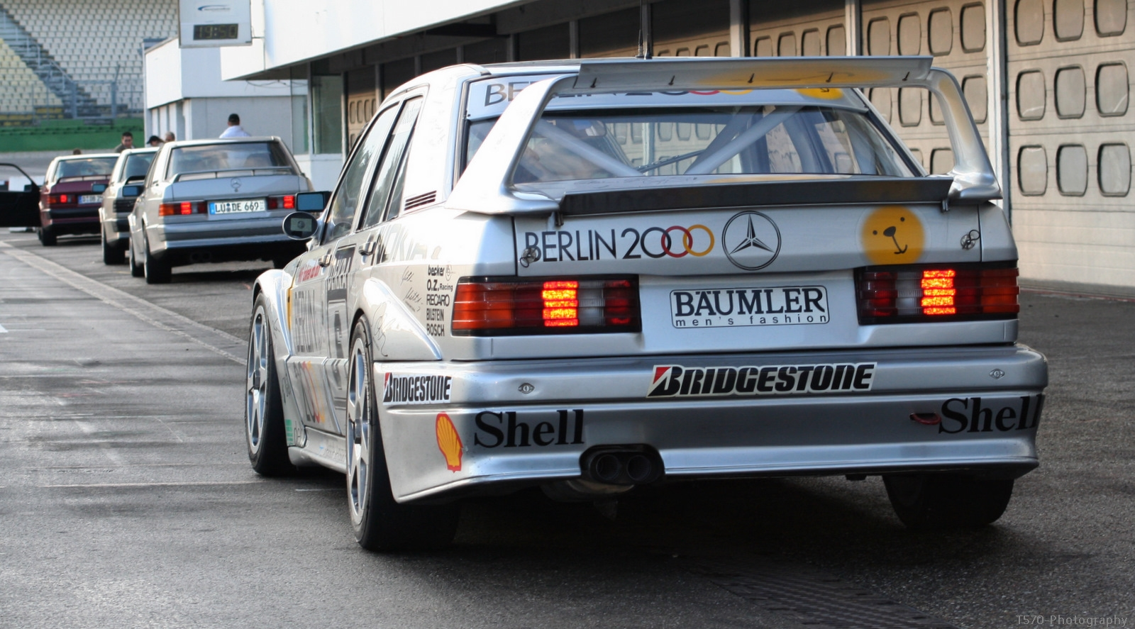 Mercedes-Benz W201 190E EVO II DTM Berlin 2000   BENZTUNING