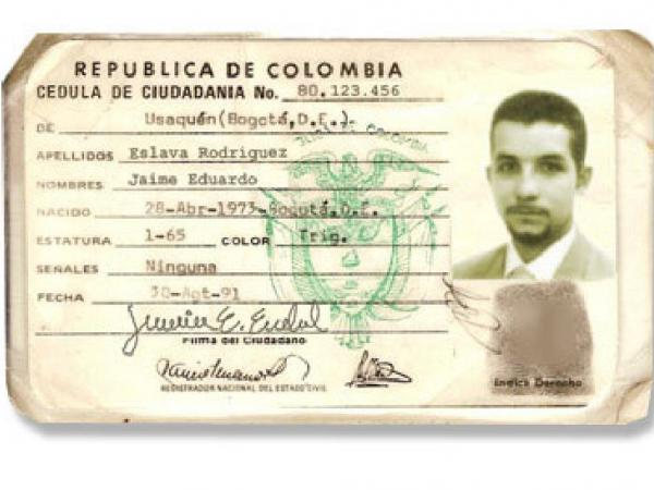 historia de la cedula colombiana