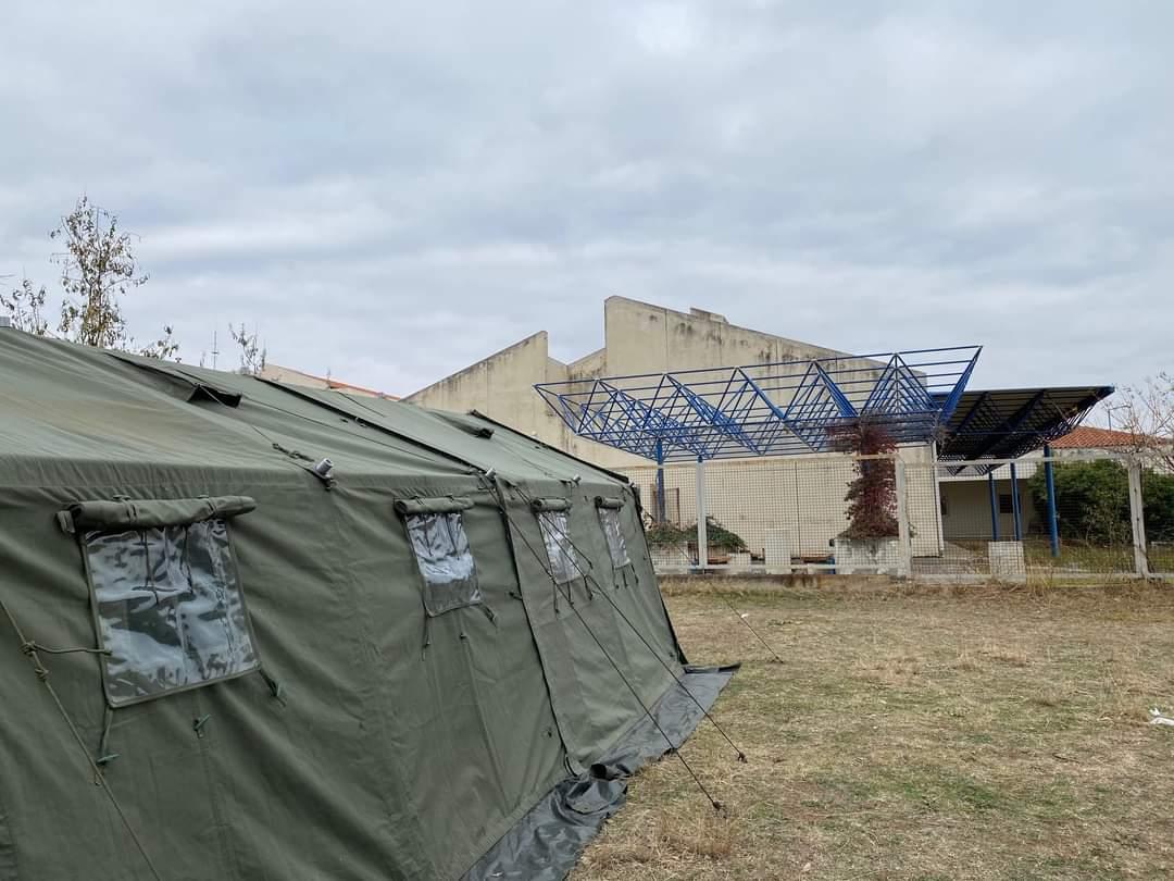 Ξάνθη: Το Νοσοκομείο απαντά για τη στρατιωτική σκηνή