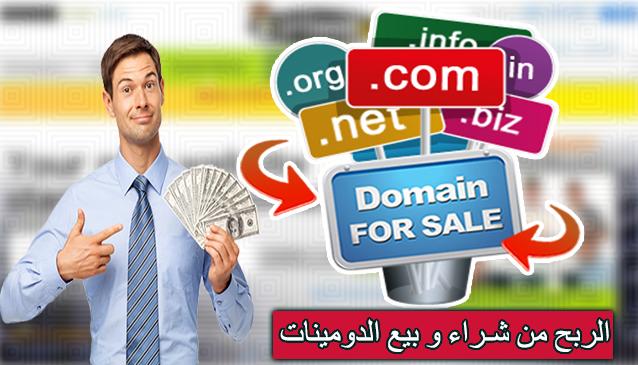 المتاجرة بالدومينات | كيف تربح من بيع وشراء الدومينات على الانترنت