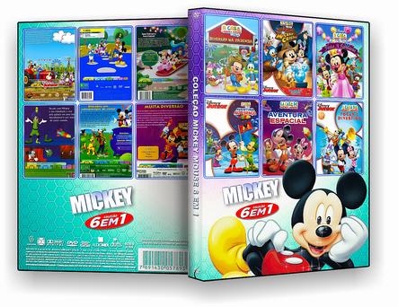 Coleção Mickey 6 em 1 - ISO