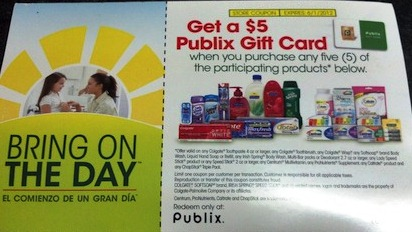 gift cards available publix divalicious couponing 10863
