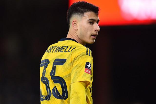 I will start training soon - Gabriel Martinelli
