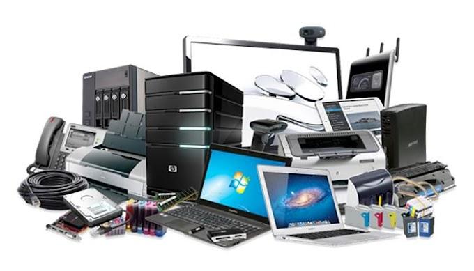 Inventario de Equipos Electronicos de Oficina - Excel