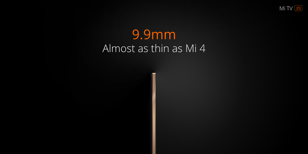 Xiaomi launches MiTV 2Swith with MIUI TV OS based on Android 5 0