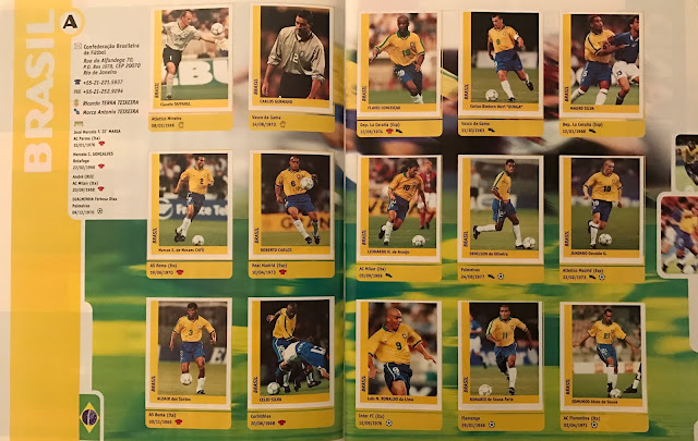 Figurina Brasile Francia '98