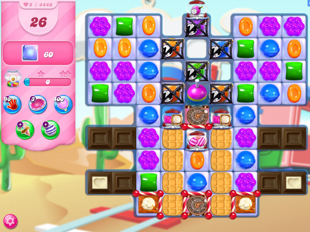 Candy Crush Saga level 4446
