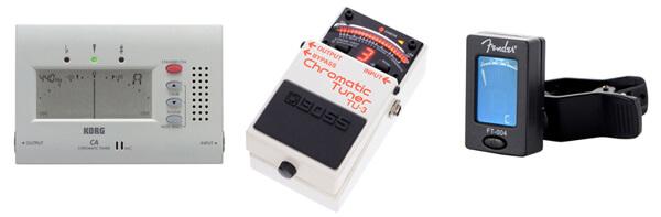 Usar un Afinador para Entonar los Bendings en Guitarra Eléctrica