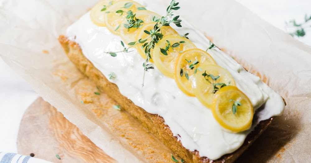 Courgette Lemon And Thyme Cake
