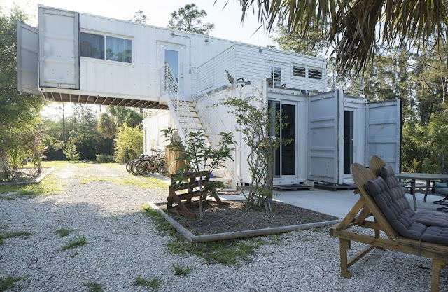 Headwaters Eco Retreat Shipping Container House, Florida 6