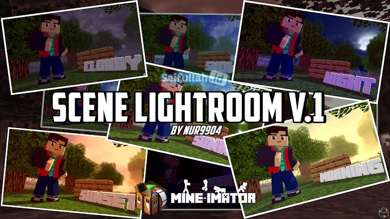 Scene Lightroom v.1 by Nur9904 - Mine-Imator