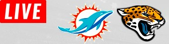 Dolphins @ Jacksonville LIVE STREAM streaming