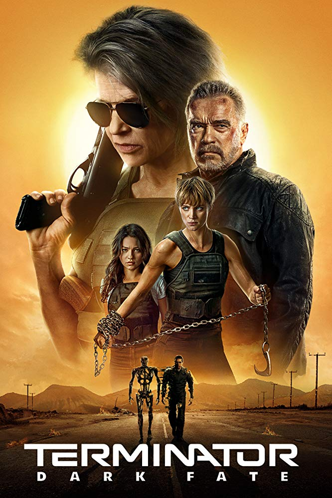 Terminator Destino Oculto 2019 HD 1080p Español Latino poster box cover
