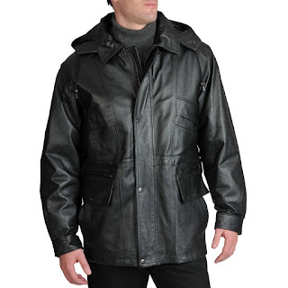 Model Jaket Kulit Parka Terbaru 2020