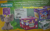 Logo Con Pampers puoi vincere 10 Elefantini Interattivi al giorno (140 premi)