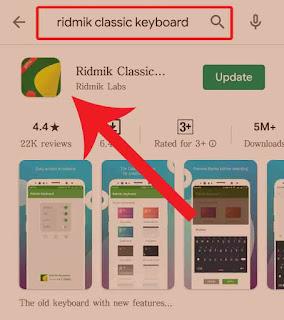Downloading ridmik keybord
