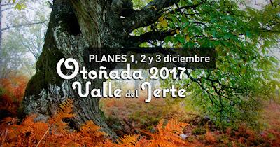 Planes para el finde en el Valle del Jerte (1, 2 y 3 diciembre 2017)