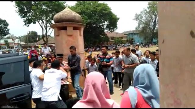 Terekam Video, Detik-detik Orang Misterius Tikam Menkopolhukam Wiranto