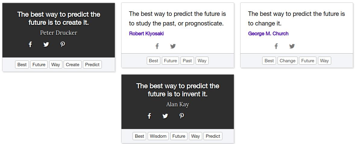 من قائل the best way to predict the future is to create it