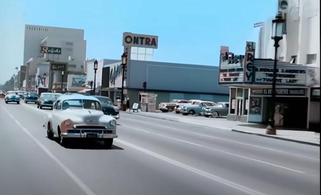 LA in 1951 movie theater randommusings.filminspector.com