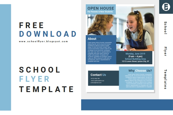Free School Open House Flyer Templates Word Document