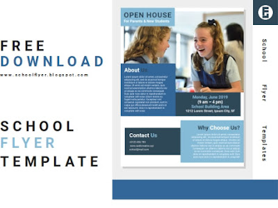 Free School Open House Flyer Templates Word Document File