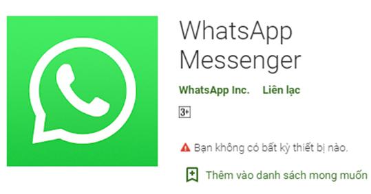Tải WhatsApp Messenger về cho điện thoại Android, máy tính PC