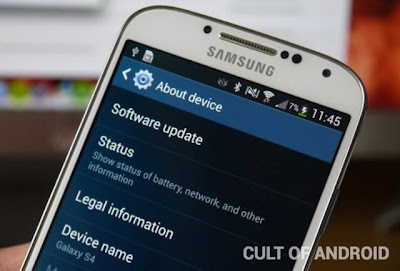 galaxy s4 updated to android 4.3