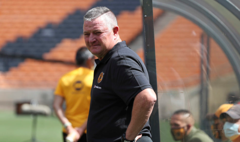 Kaizer Chiefs head coach Gavin Hunt is under pressure at this early stage of the season