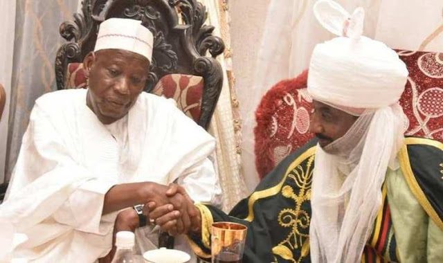 Governor Ganduje Appoints Emir Sanusi As Chairman Council Of Chiefs