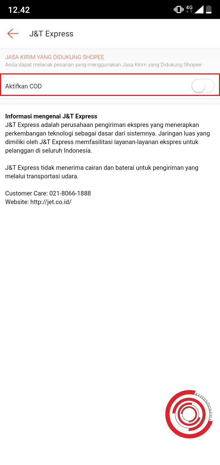 Cara Menonaktifkan Sistem Cod Di Shopee Supaya Tidak Dipilih Oleh Pembeli Kepoindonesia