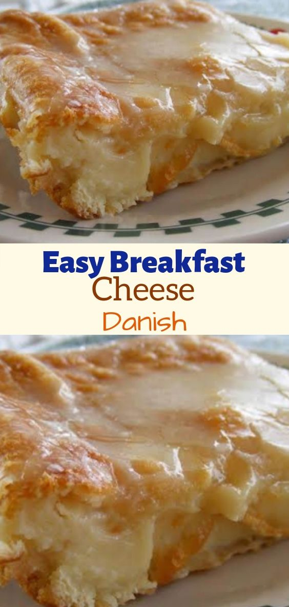 Easy and Delicious Breakfast Cheese Danish