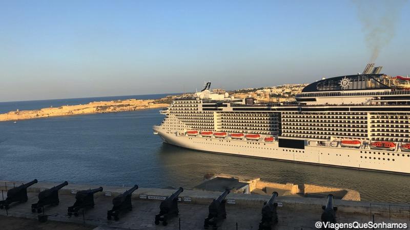 Cruzeiro em Malta