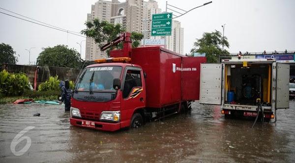 Jakarta Dikepung Banjir, Ini Kata Ahok