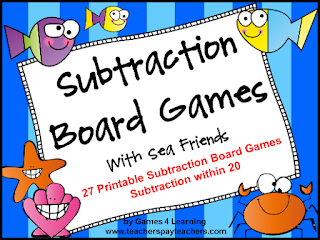 https://www.teacherspayteachers.com/Product/Subtraction-235441