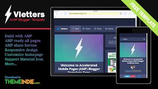 kumpulan template amp blogger
